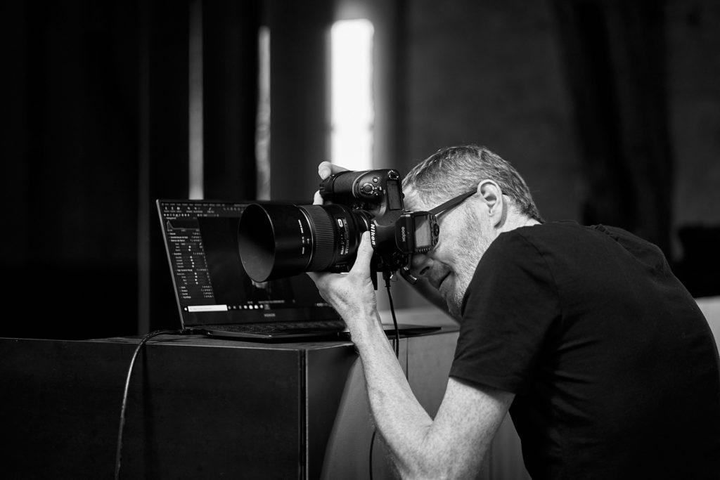 Studio photo avec matériel de haut niveau