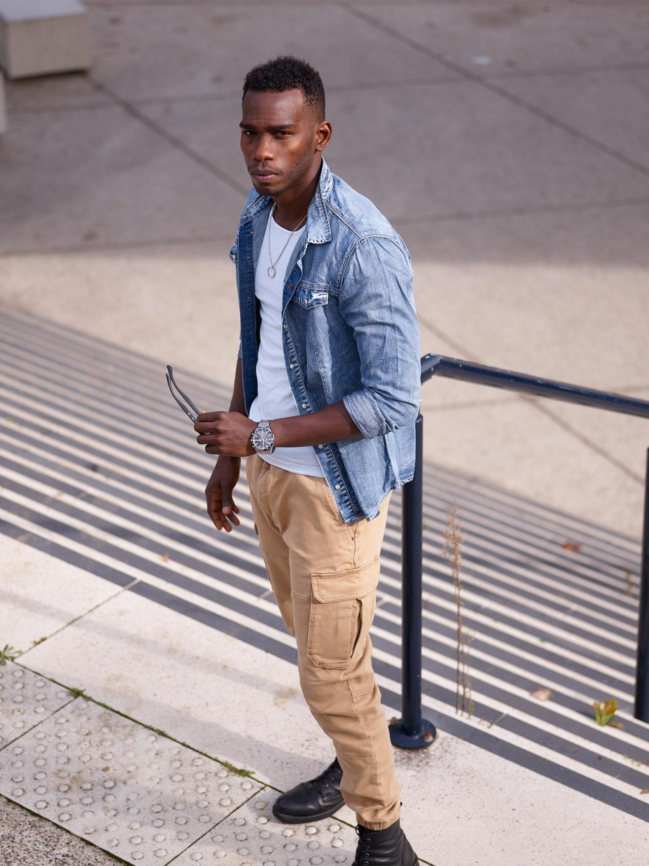 Photographe mode homme